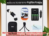 Accessory Kit Includes USB High Speed Card Reader   4 AA High Capacity Rechargeable NIMH Batteries