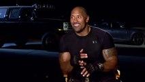 Furious 7 Interview - Dwayne Johnson (2015) - Vin Diesel, Michelle Rodriguez Movie