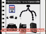 Essentials Accessory Kit For Canon EOS 60D Canon EOS 7D Mark II EOS 5DS EOS 5DS R Digital SLR