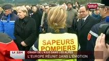Crash de l'A320 dans les Alpes : Les chefs d'états réunis dans l'émotion