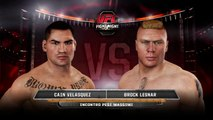 UFC Cain Velasquez vs Brock Lesnar