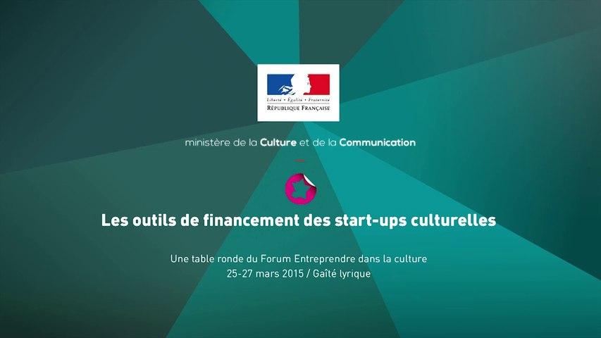 Les outils de financement des start-ups culturelles