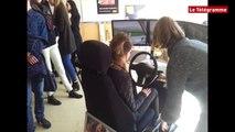 Quimper. Les étudiants de l'IUT  sensibilisés à la sécurité routière