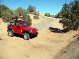 Extreme Off Roading in Moab Utah in Jeep Wrangler 4X4 (Extreem 4X4)
