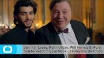 Jennifer Lopez, Keith Urban, Will Ferrell & More Celebs React to Zayn Malik Leaving One Direction
