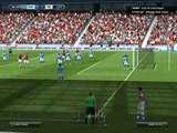 EPIC FOOTBALL MATCH ARSENAL vs MANCHESTER CITY AND GOAL WITH GOALKEEPER!