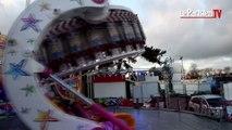On a testé «Spin Ball», le dernier manège de la Foire du Trône