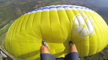 Surfing On TOP Of A Paraglider With Horacio Llorens and Tim...