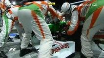 Formel 1 2009 GP14 - SINGAPUR - Rennen SKY