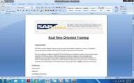 SAP HANA Online Training and Placement - SAP HANA DEMO SESSION - Crescent IT Solutions
