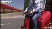 Video, Atom SA, agile sweeper machinesales scrubbers, sweepers, street sweepers trade, vacuum cleane