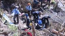 Hélitreuillage et recherches sur la zone du crash du vol Germanwings 4U9525