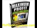 Maximum Profit Private Label Rights - eBook - Profit Using Private Label Rights Content