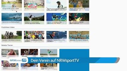 NRWsport.TV - Dein Vereins-Video demnächst hier!