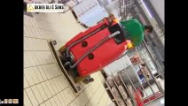 Video, Jumbo, scrubber drier for big areassales scrubbers, sweepers, street sweepers trade, vacuum c