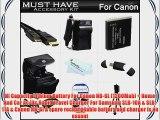 Must Have Accessory Kit For Canon PowerShot SX500 IS SX510 HS SX520 HS SX530HS SX530 HS Digital