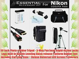 Essential Accessories Kit For Nikon COOLPIX P900 P610 P600 16.1 MP Wi-Fi Digital Camera Includes