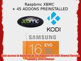 16GB Micro SD Card Preloaded With Raspbmc (XBMC/KODI)   45 Addons - Plug and Play With Raspberry