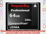 Komputerbay 64GB High Speed Compact Flash CF 266X Ultra High Speed Card 36MB/s Write and 37MB/s