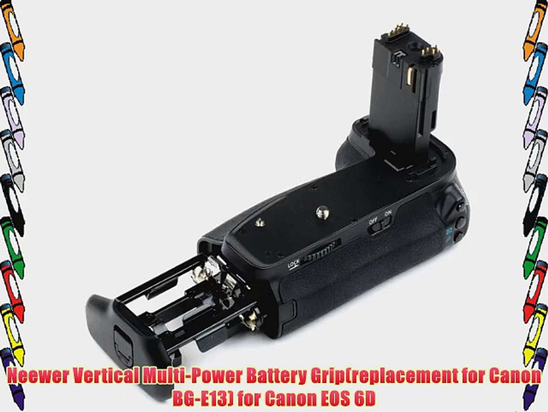 Reemplazo BG-E14 Muti-Power Vertical Battery Grip para Canon EOS 70D Cámara