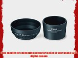 Canon LAH-DC20 Conversion Lens Adapter (LA-DC58E) and Hood (LH-DC40) Set for the S5 IS S3 IS