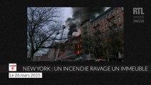 19 blessés dont 4 graves dans un violent incendie à New York
