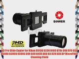 HD Pro Slide Copier for Nikon D5100 D200 D100 D70s D80 D70 D50 D5000 D3000 D300S D90 D40 D40X