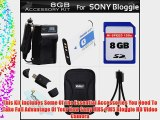 8GB Accessory Kit For Sony MHS-PM5 Bloggie HD Video Camera Includes 8GB High Speed SD Memory
