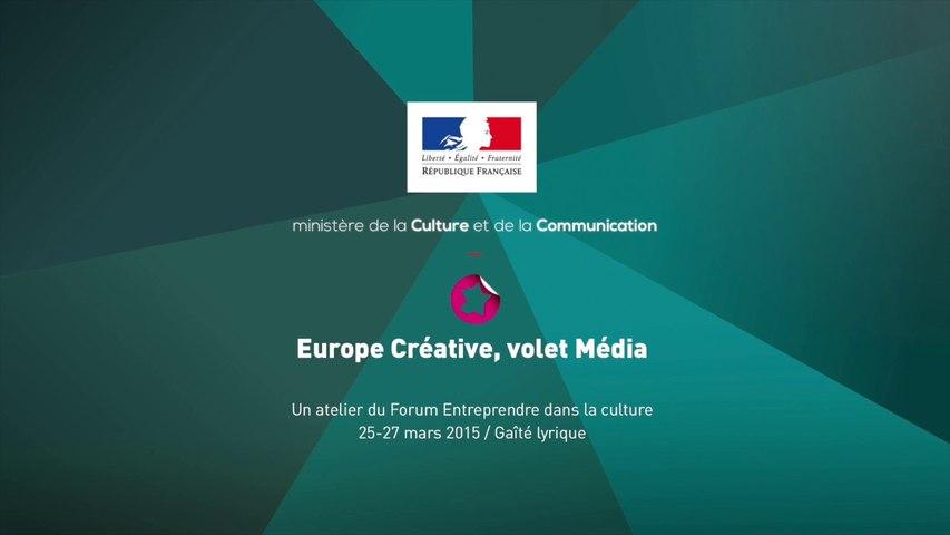 Europe Créative, volet Média