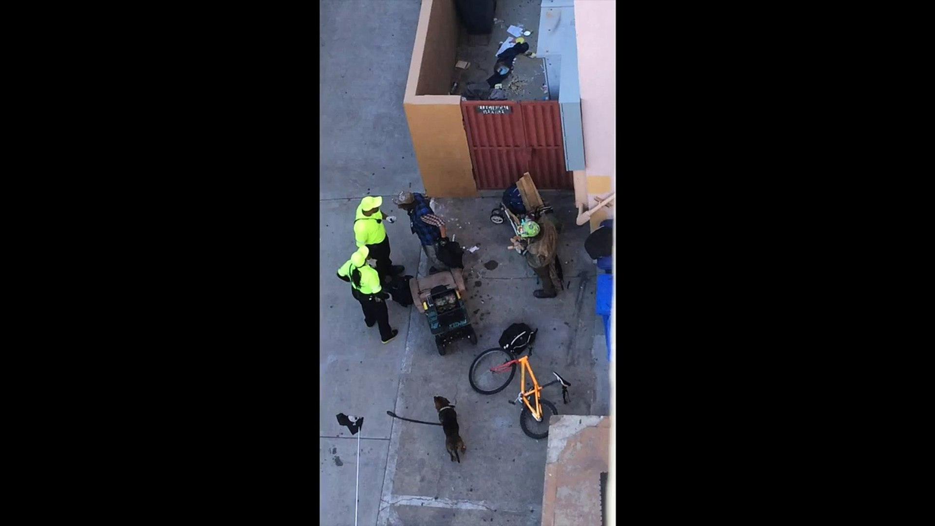 Berkeley Ambassador Punches Homeless Man