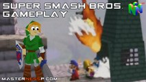 Super Smash Bros Gameplay N64 - Multiplayer Madness - HD Extended Gameplay - Nintendo 64 (N64)