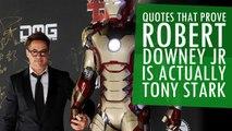 Times When Robert Downey Jr Was Pretty Much Tony Stark