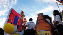 Belinda enseña todo en el Carnaval de Mazatlán