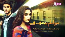 Mera Naam Yousuf Hai Episode 4 Full in High Quality on Aplus -March 27,2015