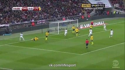 Harry Kane Goal - England 3-0 Lithuania - Euro 2016 Qualification
