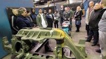 Portes ouvertes organisées par les salariés licenciés de Sambre et Meuse à Feignies: