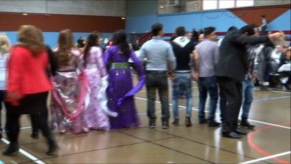 22 mars 2015. Gelos. Rencontre avec les Chaldéens de Pau. Danses