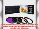 Polaroid Optics 52mm 4 Piece Filter Set (UV CPL FLD WARMING)