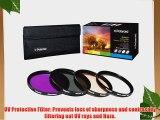 Polaroid Optics 72mm 4 Piece Filter Set (UV CPL FLD WARMING)