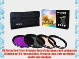 Polaroid Optics 37mm 4 Piece Filter Set (UV CPL FLD WARMING)