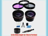 Essential Must Have Kit Lens Kit includes 0.43X Wide Angle (w/ Macro Portion) and 2.2X Telephoto