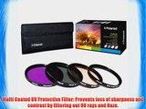 Polaroid Optics 58mm 4 Piece Filter Set (UV CPL FLD WARMING)