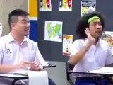Prof d'anglais, cours d'anglais dans une classe chinoise (Mourir de rire)