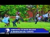 En Bahía Ballena los pescadores dejaron las redes para dedicarse al turismo