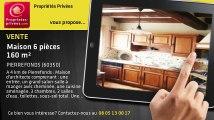 A vendre - maison - PIERREFONDS (60350) - 6 pièces - 160m²