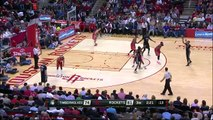 Andrew Wiggins Spins & Slam Dunk - Timberwolves vs Rockets - March 27, 2015 - NBA Season 2014-15