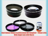 Deluxe Lens Kit for panasonic AG-HCK10g AG-HMC40PJ AG-HMC80PJ professional camcorder   Includes
