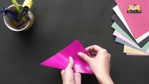 Learn to make a Envelope - Origami in Hindi - YouTube | 120x213