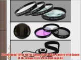 Professional Filter Kit For Canon EOS 7D DSLR Camera with Canon EF 28-135mm f/3.5-5.6 IS USM