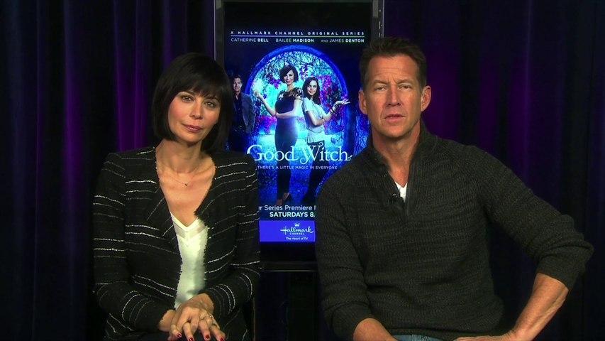 "IR Interview: Catherine Bell & James Denton For ""Good Witch"" [Hallmark]"